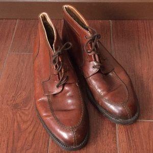 Klondike original Sz 12 brown leather ankle boots